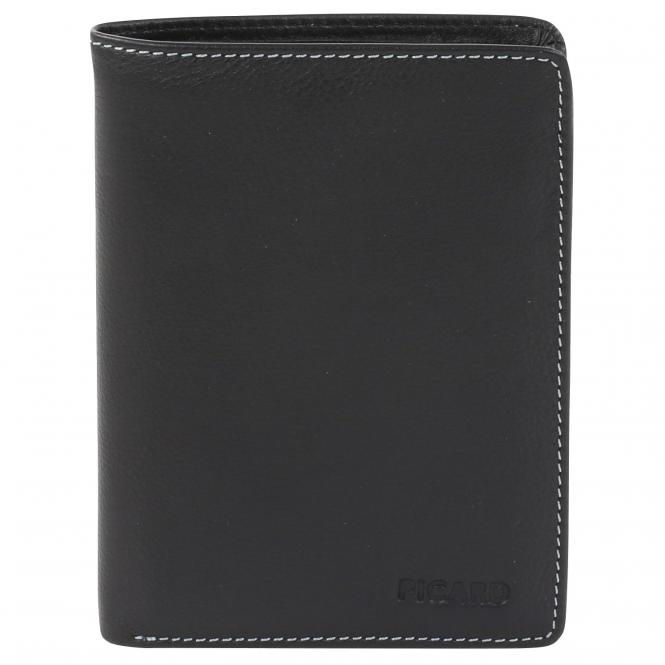 Picard Diego Börse Hochformat 12,5 cm - schwarz