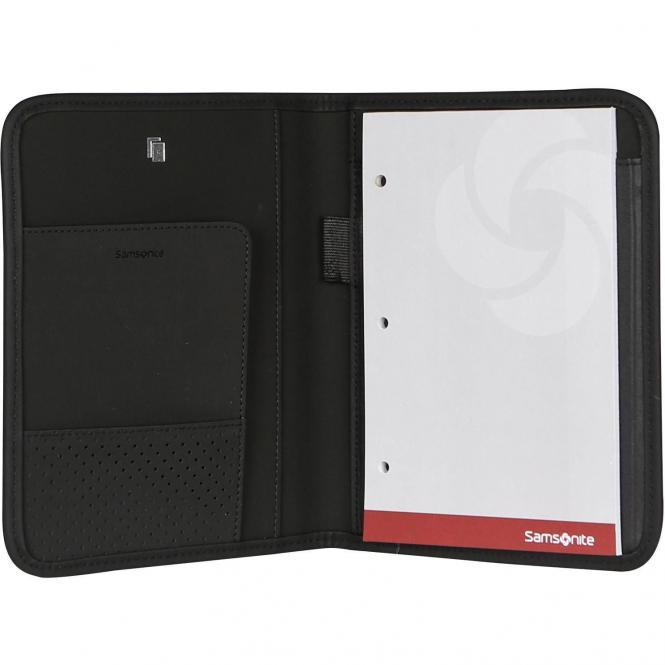 Samsonite Stationery Tabzone Writing Case A5 / Schreibmappe - black