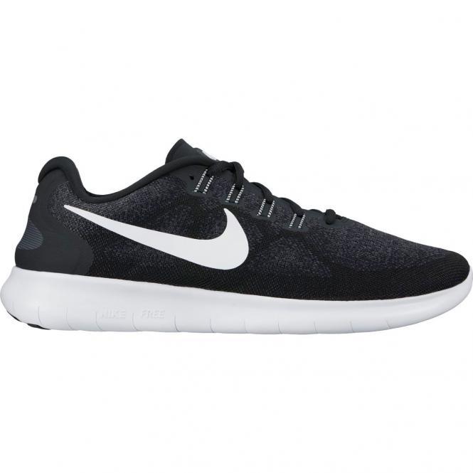 Nike Women Free Running 2017 Schuh 880840 - 37,5  black/white dark grey