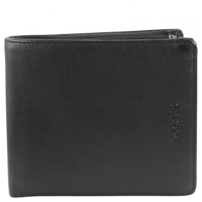 Picard Brooklyn Herrengeldbörse 11,5 cm - schwarz