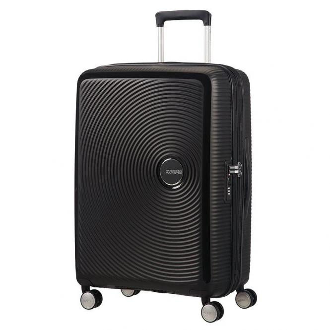 American Tourister Soundbox 4-Rollen-Trolley 67 cm erweiterbar - bass black*