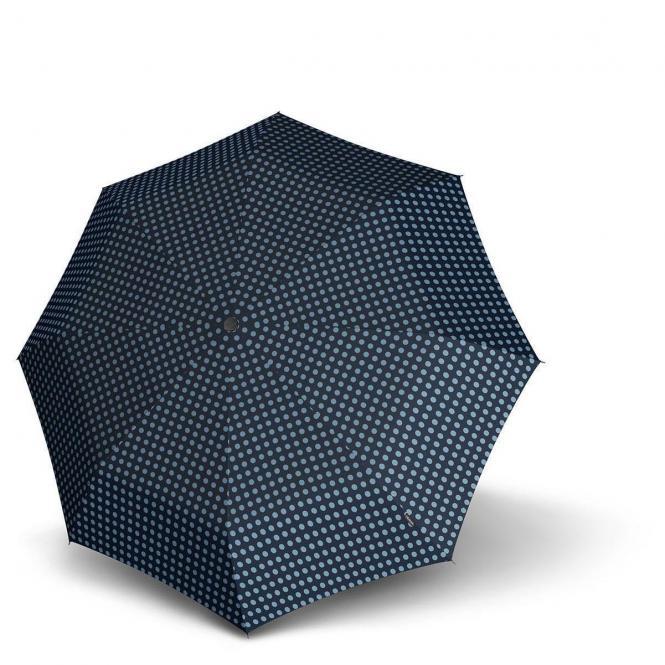 Knirps X1  Taschenschirm / Regenschirm - navy dot