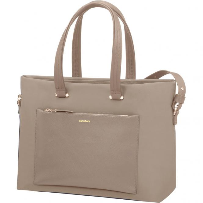 Samsonite Zalia Shopping Bag 15.6´´ 41 cm - beige