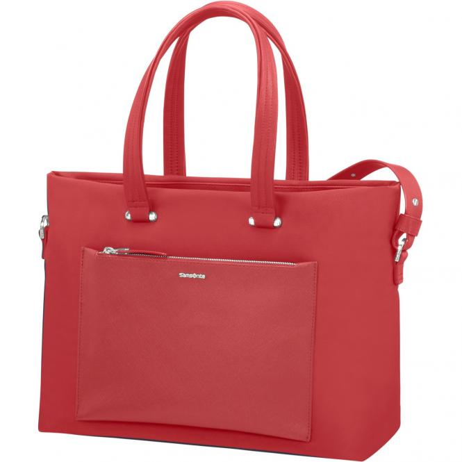 Samsonite Zalia Shopping Bag 15.6´´ 41 cm - red