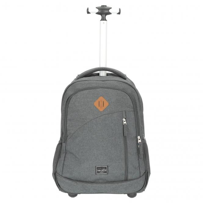 Travelite Basics Rucksacktrolley 47 cm - anthrazit