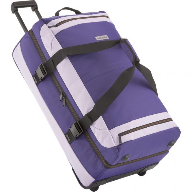 Travelite Basics Doppeldecker Rollenreisetasche 78 cm - lila/flieder