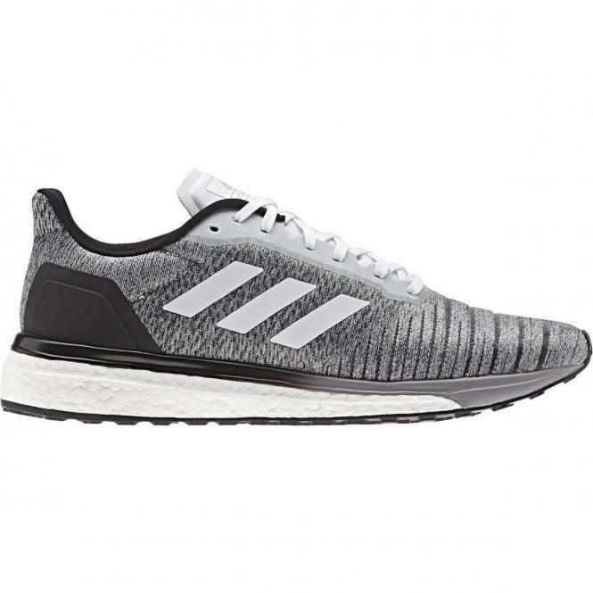 adidas Men Solar Drive Running Schuh AQ0337 - 45 1/3 | white/white/core black