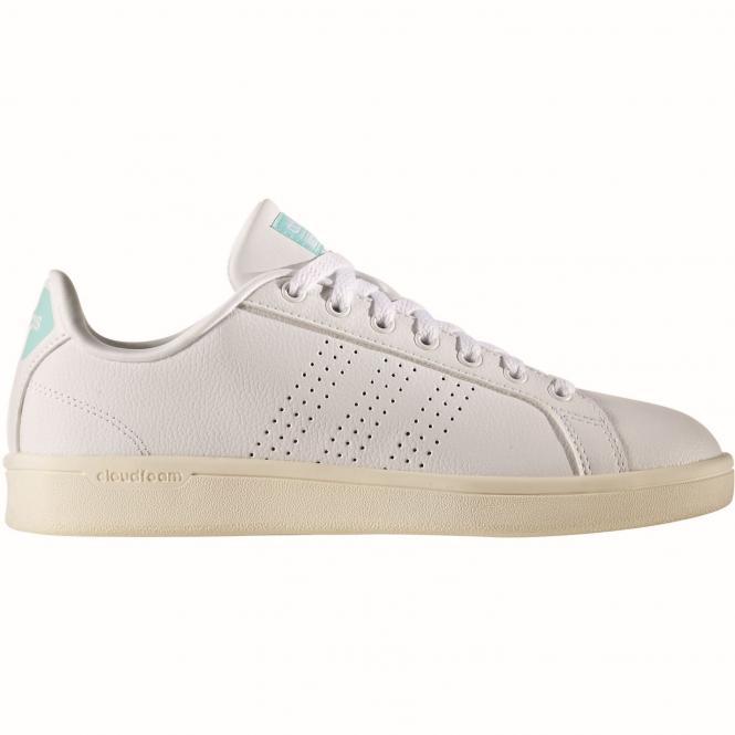 adidas Neo Cloudfoam Advantage Clean Women Sneaker AW3975 - adidas Neo Cloudfoam Advantage Clean Women Sneaker AW3975