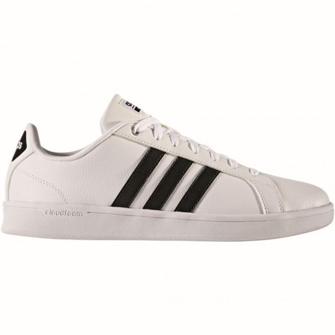 adidas Neo Cloudfoam Advantage Sneaker Schuh AW4294 - 43 1/3  white/core black/ftwr white