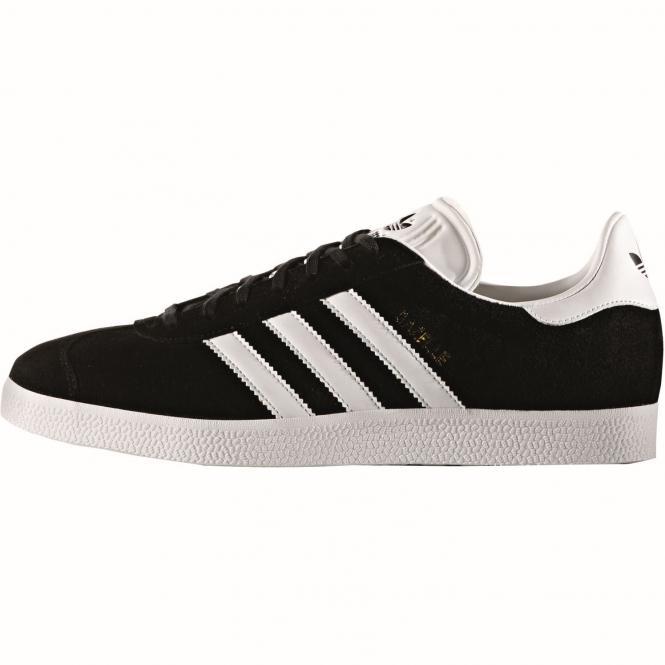 adidas originals Gazelle Schuh BB5476 - 44  black/white/gold met.
