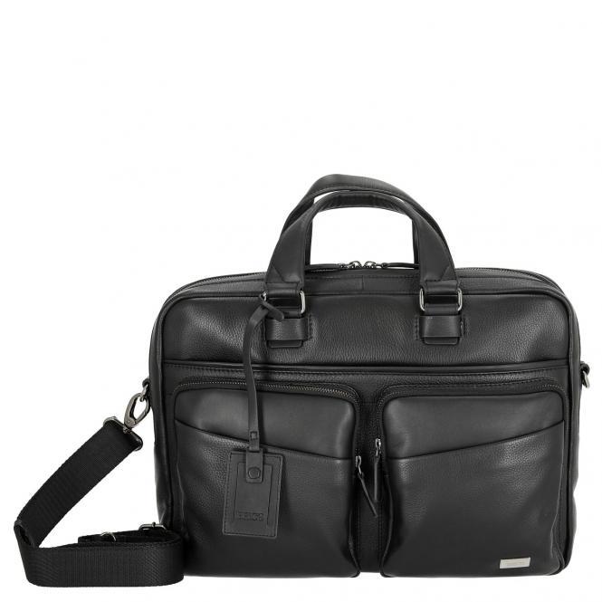 "Brics Torino Laptoptasche 39 cm 14,5"" - black"