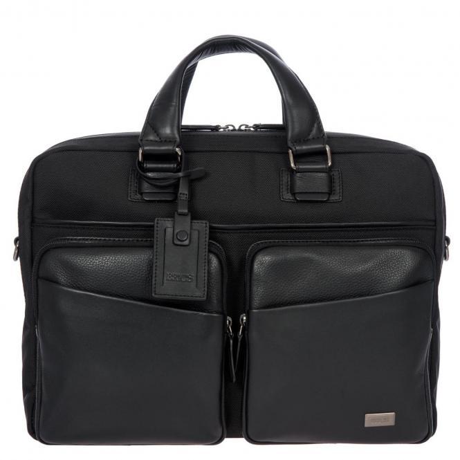 "Brics Monza Laptoptasche 37 cm 14,5"" - black"