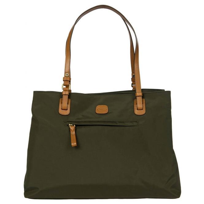 Brics X-Bag Shopping Großer Shopper 40 cm - oli...