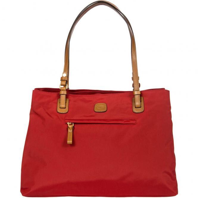 Brics X-Bag Shopping Großer Shopper 40 cm - rot