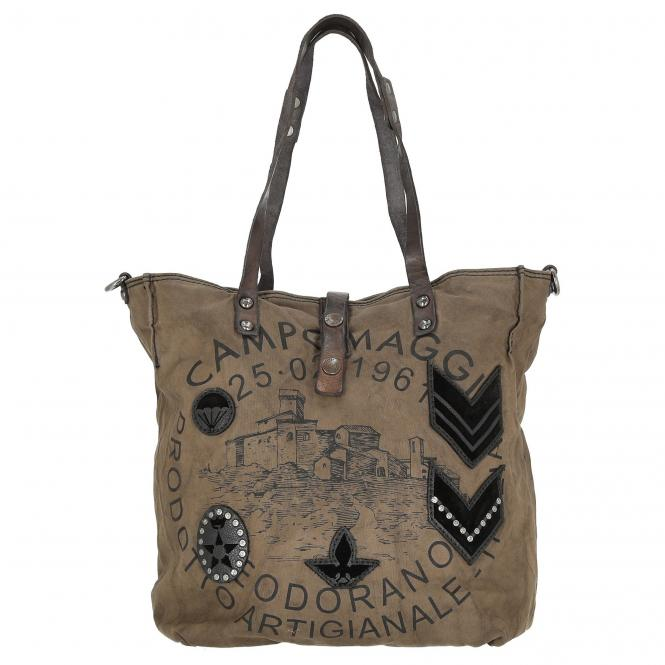 Campomaggi Traditional Lilia Shopper Cowhide Le...