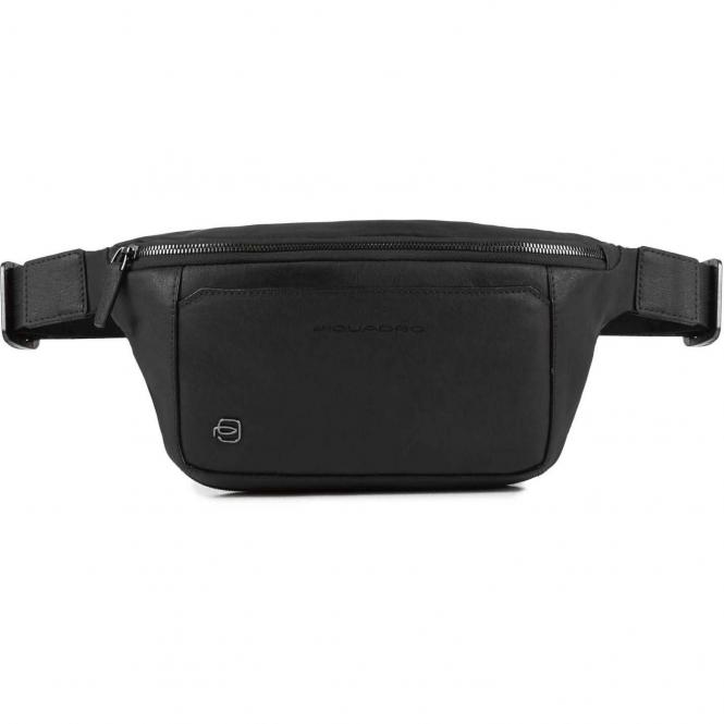 Piquadro Black Square Bum Bag Gürteltasche - black