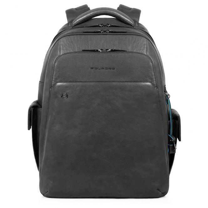 Piquadro Black Square Laptoprucksack 43 cm - black
