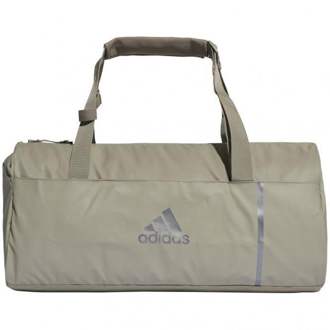 adidas Convertible 3-Streifen Sporttasche mit Rucksackfunktion M 57 cm - tracar/ngtmet