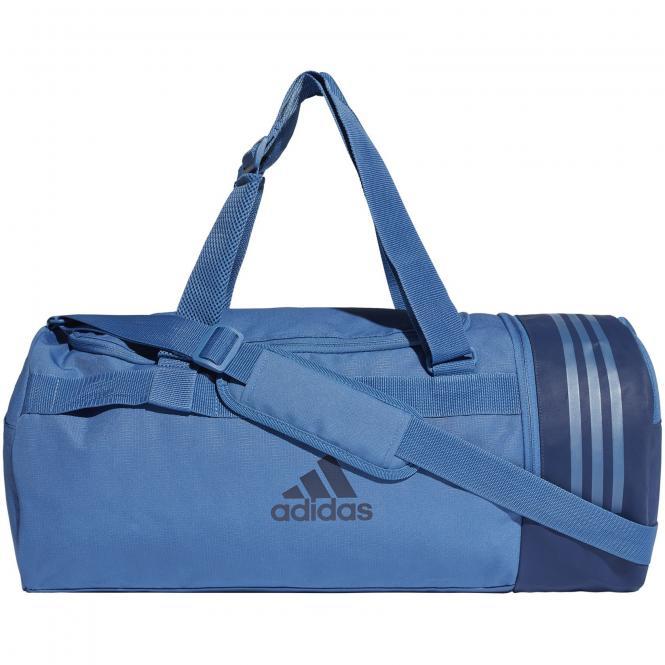 adidas performance Convertible 3-Streifen Sporttasche mit Rucksackfunktion M 58 cm - actora/white/white/oraact
