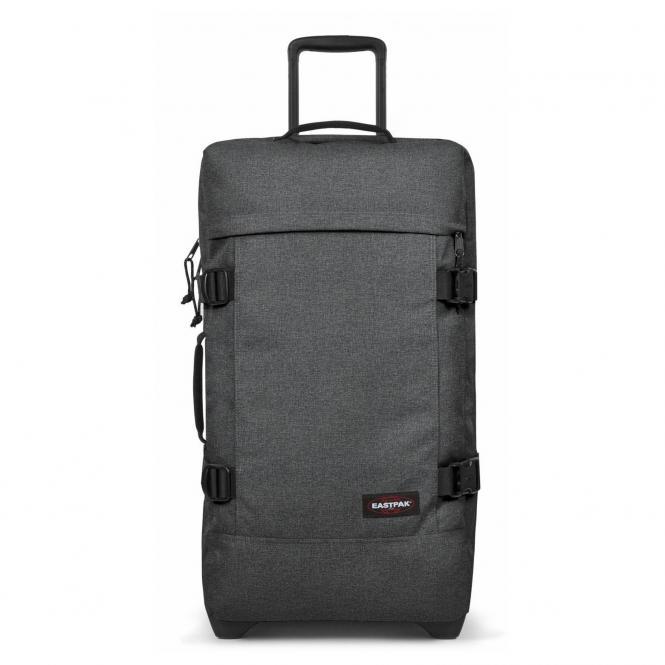 Eastpak Tranverz M Rollenreisetasche 67 cm mit TSA-Schloss - black denim
