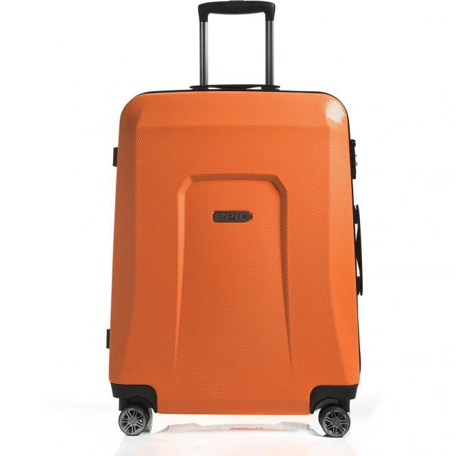 Epic HDX Hexacore 4-Rollen-Trolley 75 cm - orangeglow