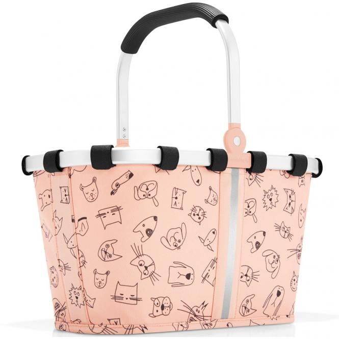 reisenthel kids collection carrybag xs - cats and dogs rose