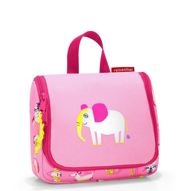 reisenthel kids collection toiletbag S - abc friends pink