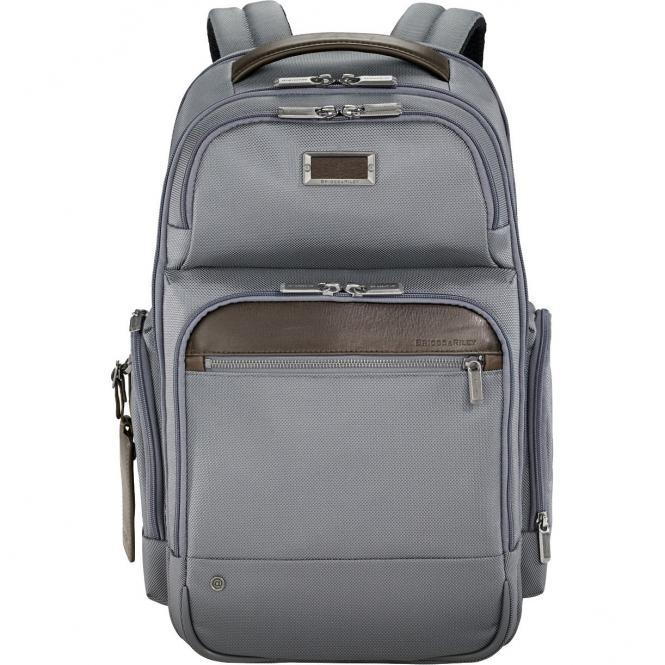 Briggs & Riley Business Medium Cargo Backpack 45.5 cm - grey