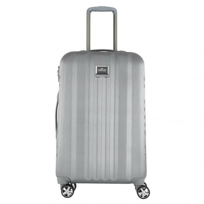 March 15 Yearz-Fly 4-Rollen-Trolley M 65 cm - silver brushed