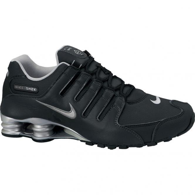 Nike Shox NZ EU Mens Sportschuh - 44 ~ dark grey /sail