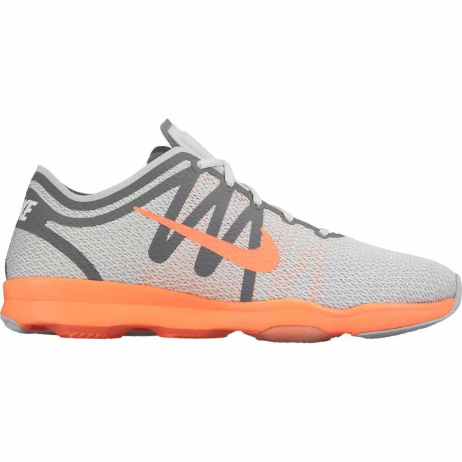 Nike Women Air Zoom Fit 2 Laufschuh 81672 - 40,5  pr pltnm/brght mng-cl gry-whit