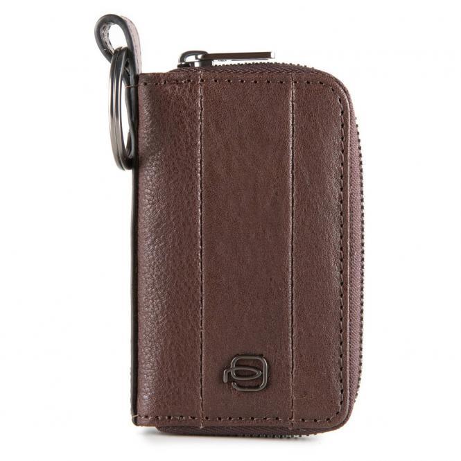 Piquadro Brief Schlüsselmäppchen 9.5 cm - dark brown