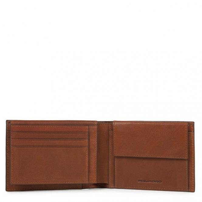Piquadro Black Square Herrenbrieftasche mit Kreditkartensteckfächern 12.5 - Piquadro Black Square Herrenbrieftasche mit