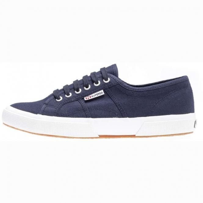 Superga Cotu Classic Sneaker Schuh Unisex 2750-SF43 - 36  navy-fwhit