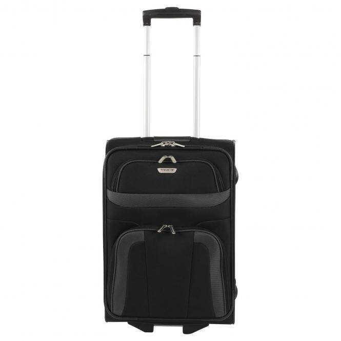 Travelite Orlando 2-Rollen-Kabinentrolley S 52 cm - schwarz