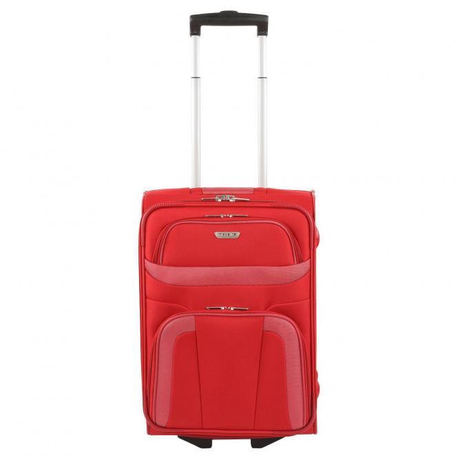 Travelite Orlando 2-Rollen-Kabinentrolley S 52 cm - rot