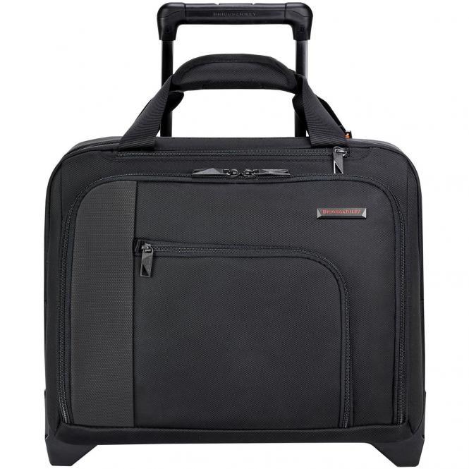 Briggs & Riley Verb Propel Expandable Rolling Case / 2-Rollen Businesstrolley 39,3 cm - black