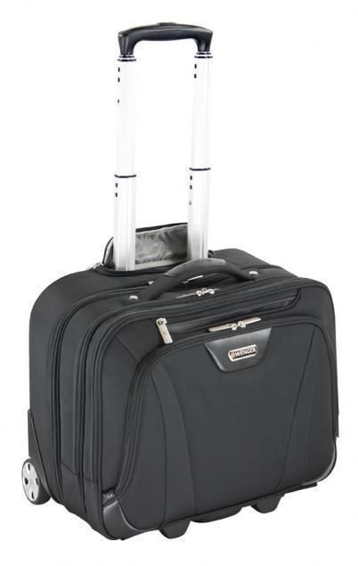 Wenger Business Deluxe 2-Rollen Businesstrolley 17'' - schwarz