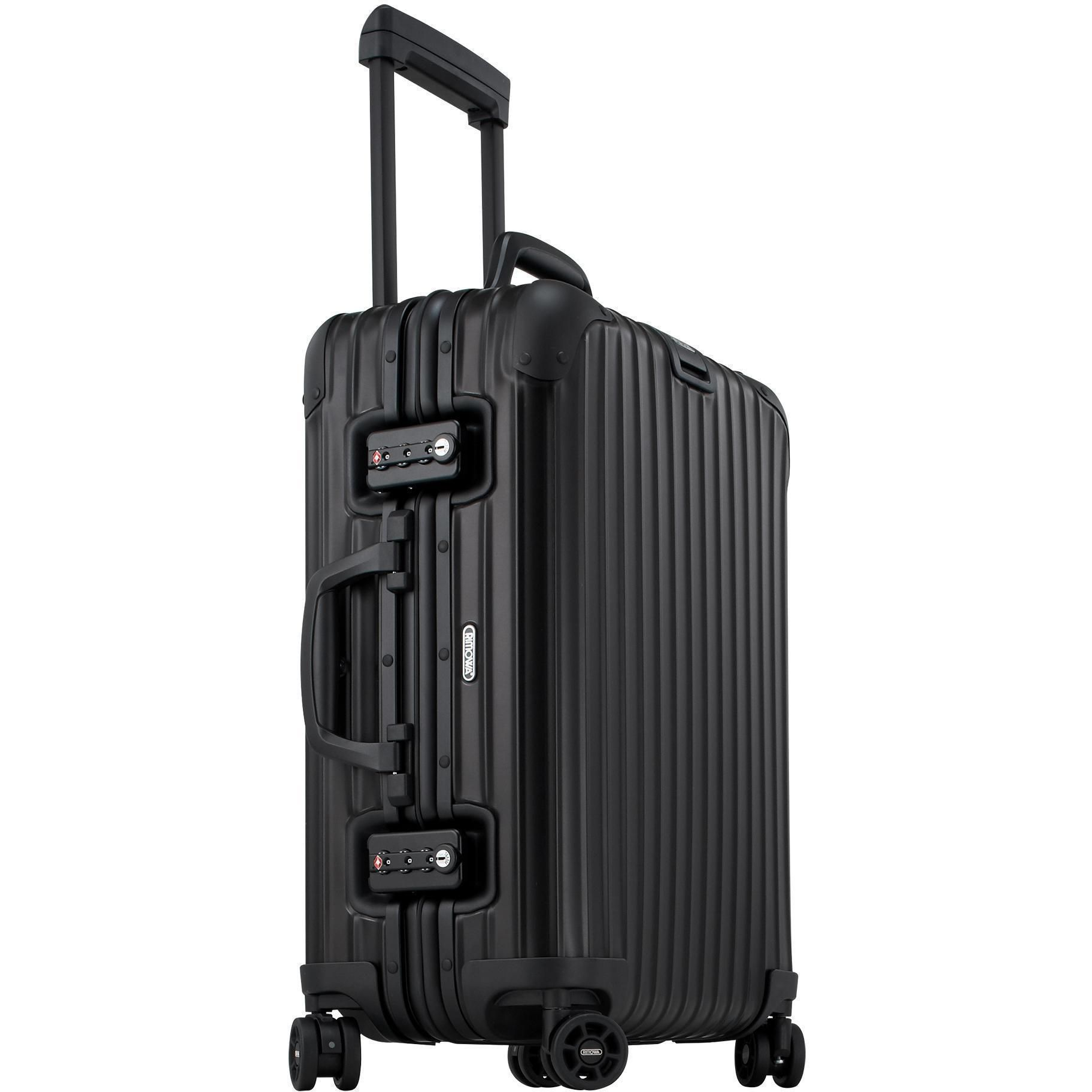 rimowa topas stealth multiwheel cabin trolley iata 53. Black Bedroom Furniture Sets. Home Design Ideas