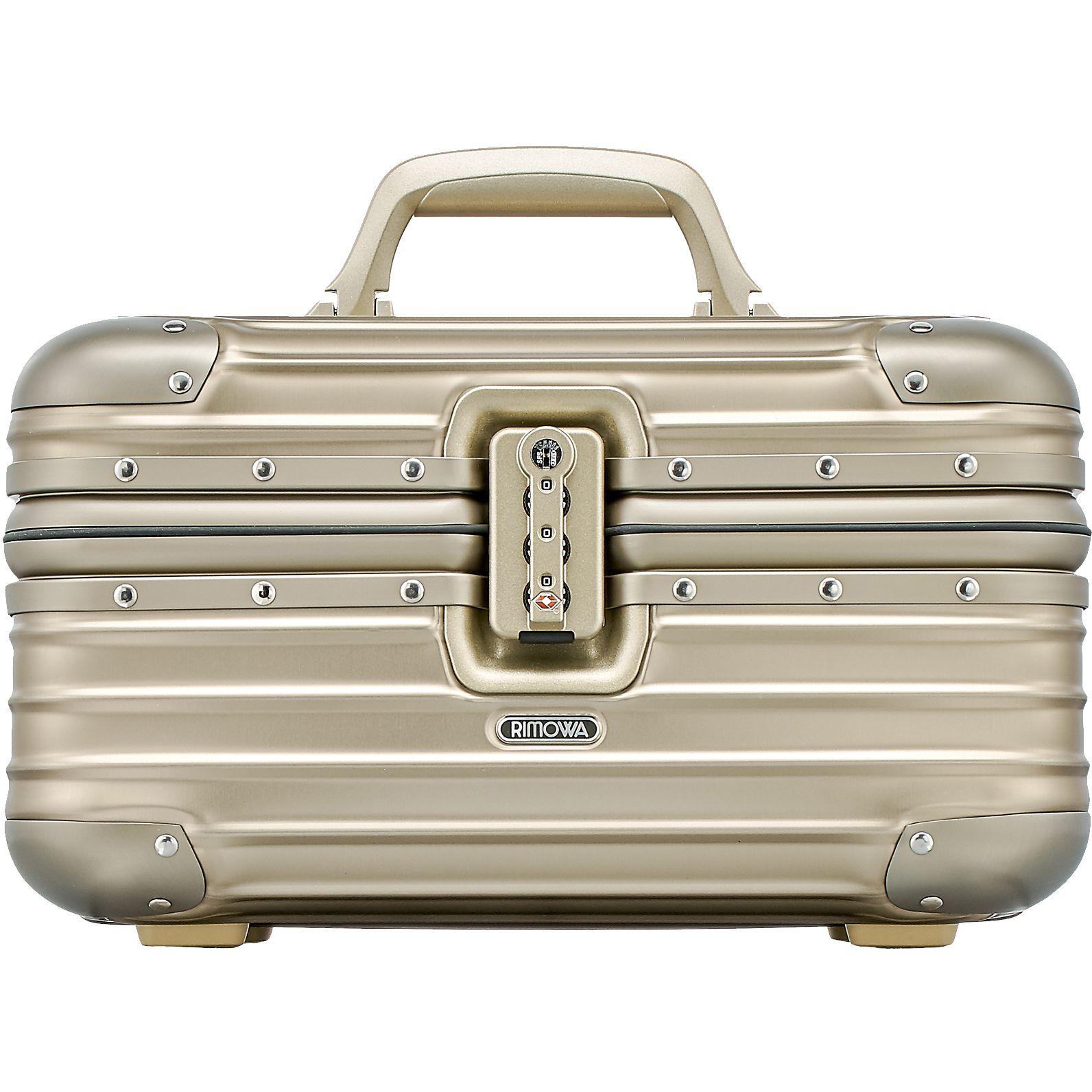 rimowa topas titanium beauty case 38 kaufen bei markenkoffer. Black Bedroom Furniture Sets. Home Design Ideas
