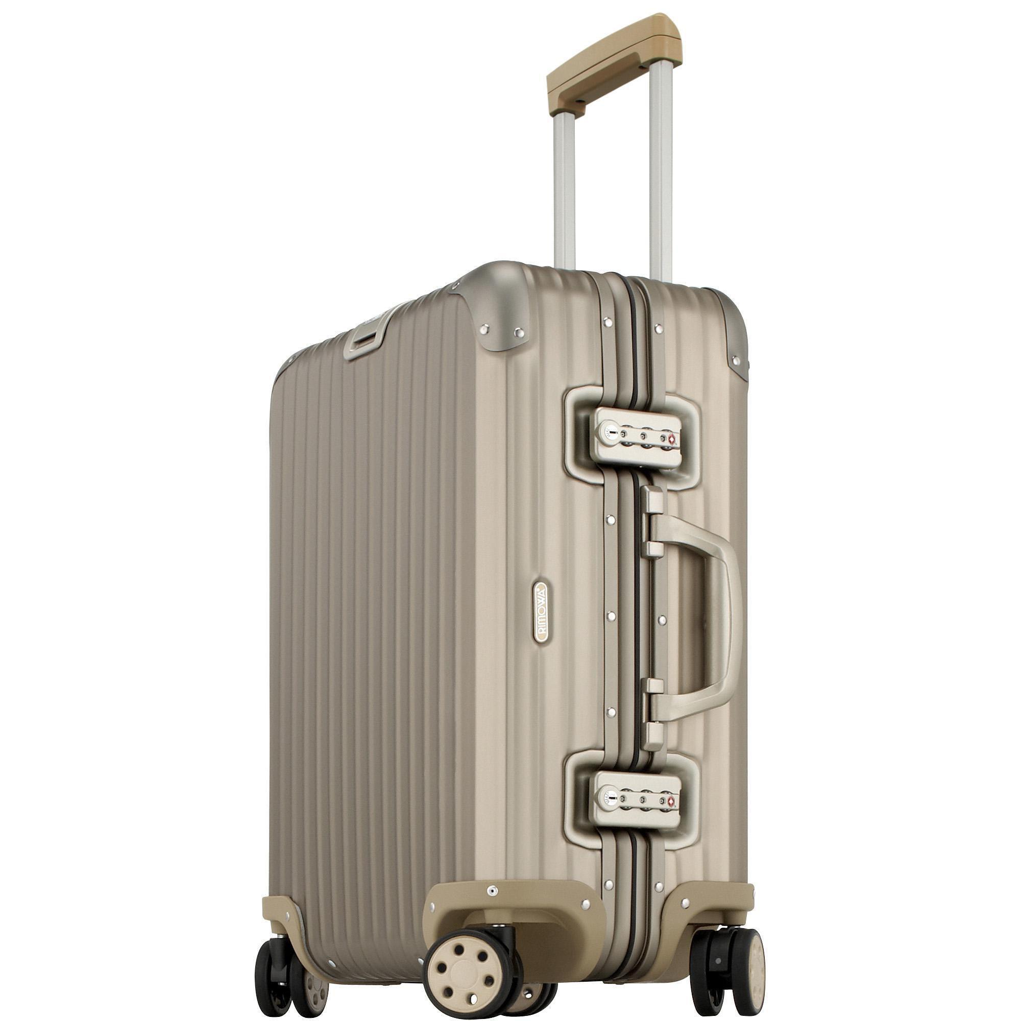 rimowa topas titanium cabin multiwheel 56 titanmetallic. Black Bedroom Furniture Sets. Home Design Ideas