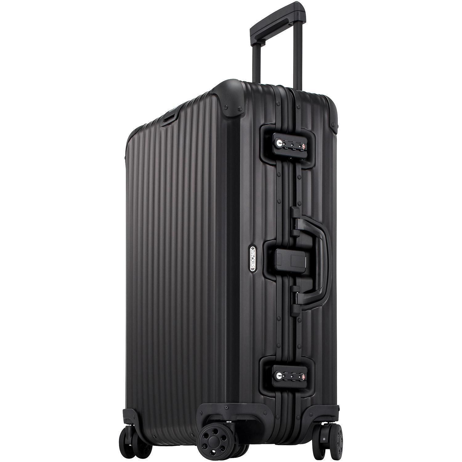 rimowa topas stealth multiwheel trolley 63 kaufen bei markenkoffer. Black Bedroom Furniture Sets. Home Design Ideas