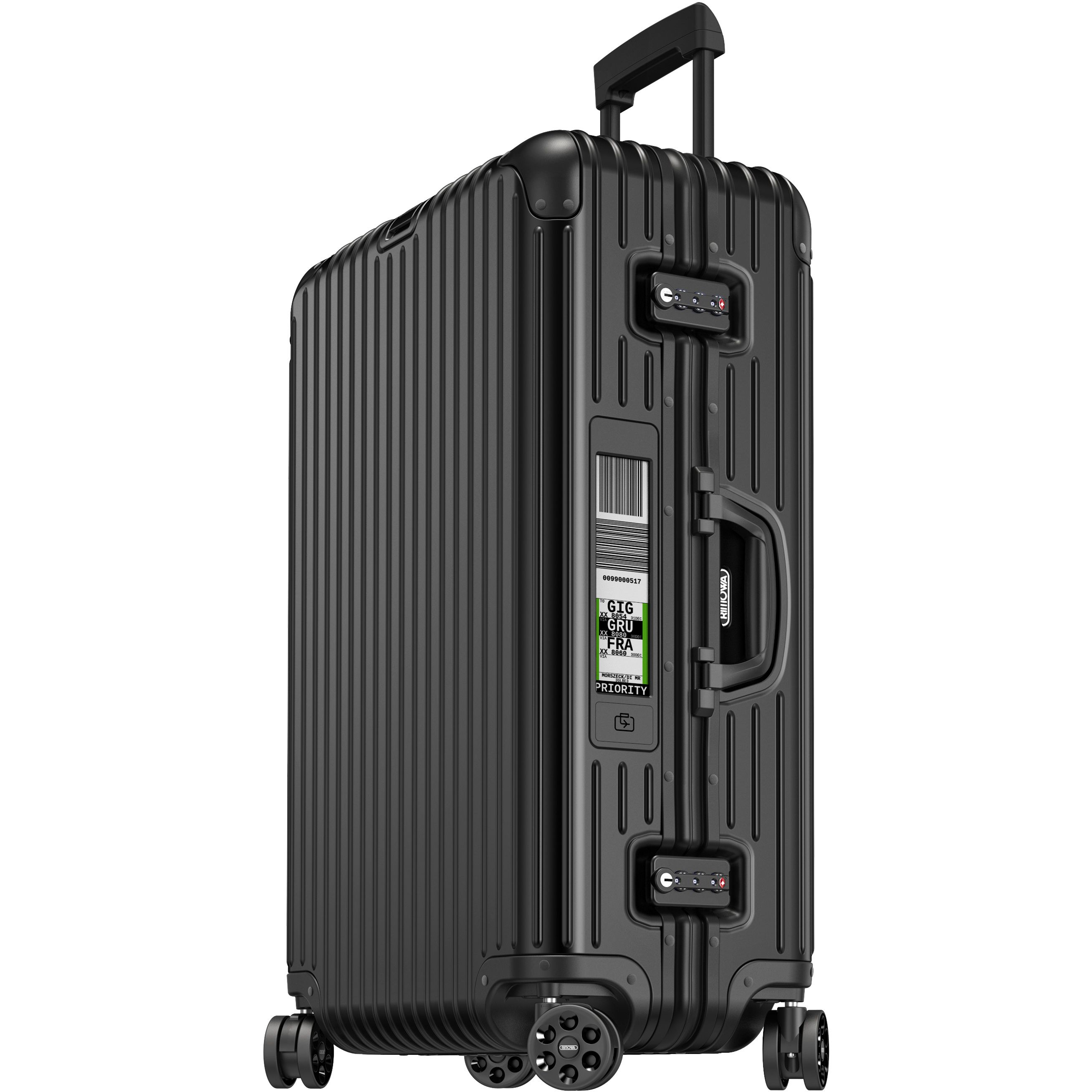 rimowa topas stealth multiwheel 70 electronic tag kaufen bei markenkoffer. Black Bedroom Furniture Sets. Home Design Ideas