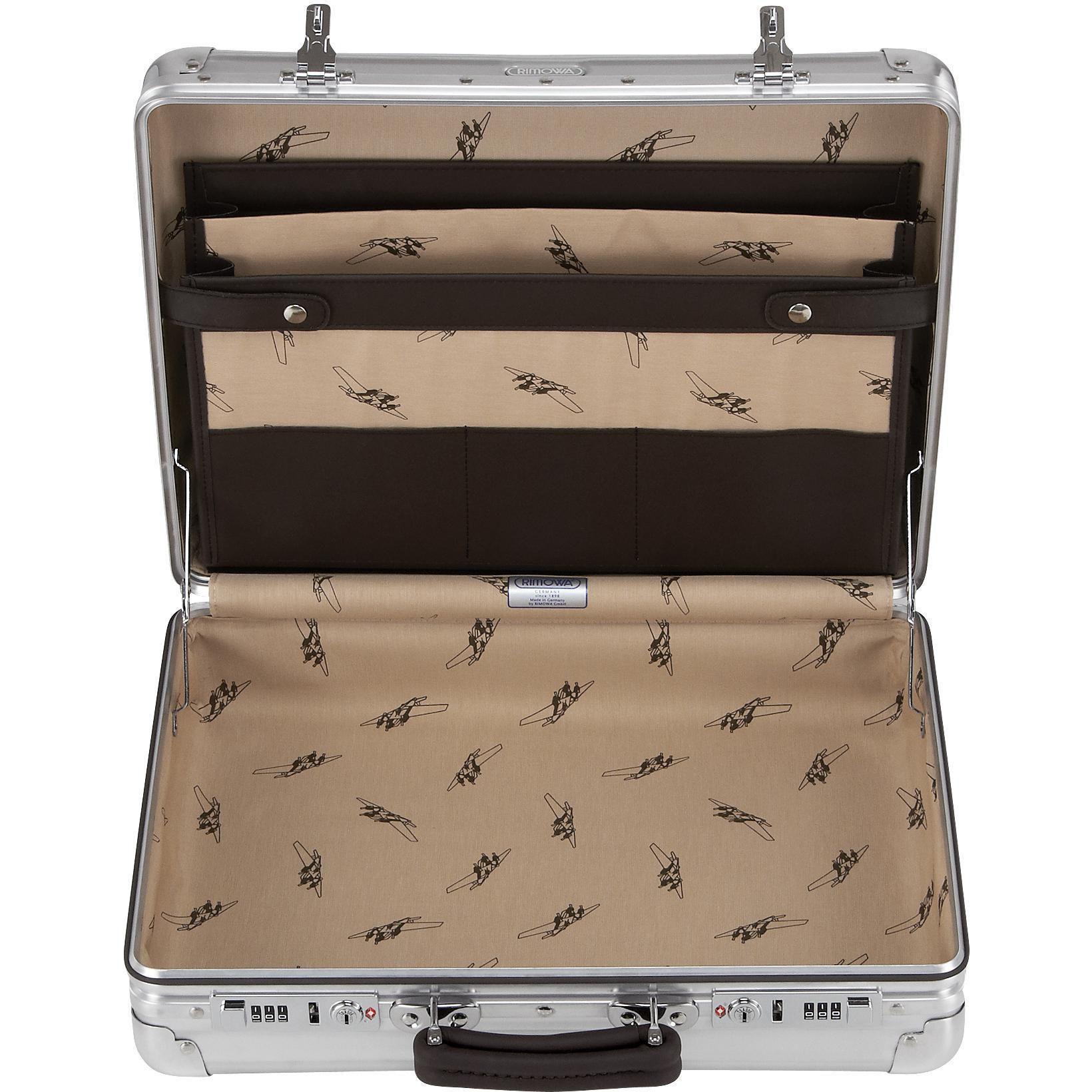 rimowa classic flight aktenkoffer kaufen bei markenkoffer. Black Bedroom Furniture Sets. Home Design Ideas