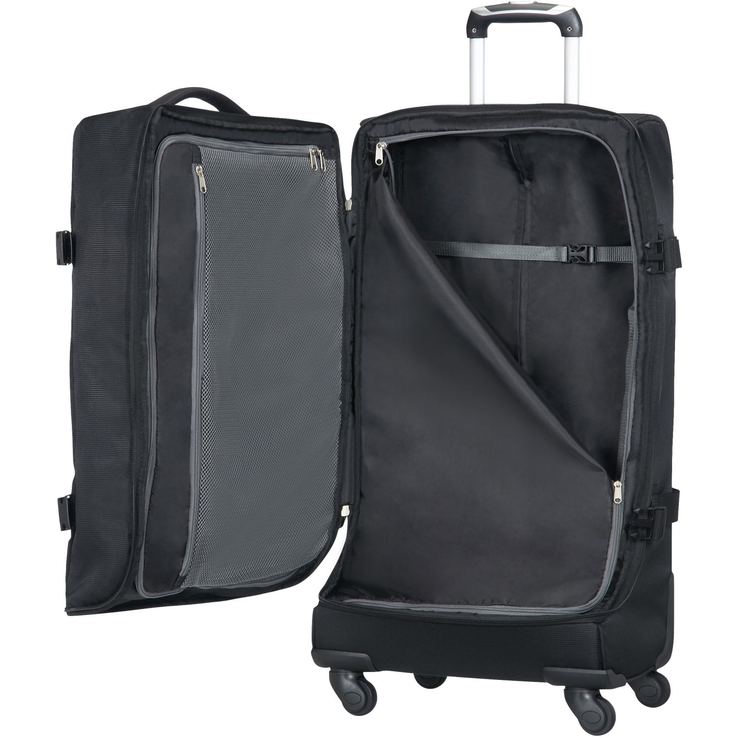 american tourister road quest 4 rollen reisetasche l 77 cm. Black Bedroom Furniture Sets. Home Design Ideas