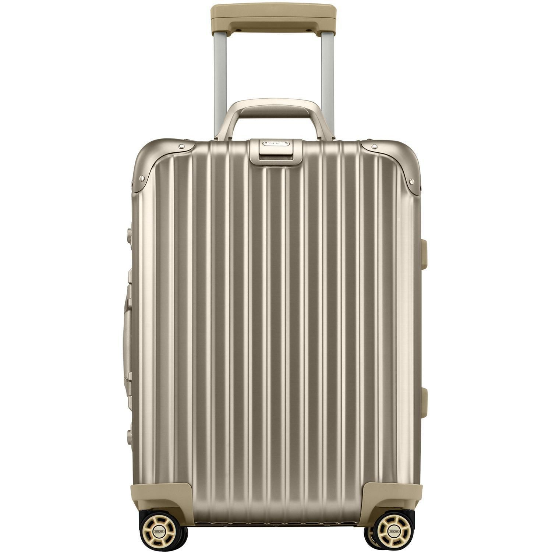 rimowa topas titanium multiwheel cabin trolley iata 53. Black Bedroom Furniture Sets. Home Design Ideas
