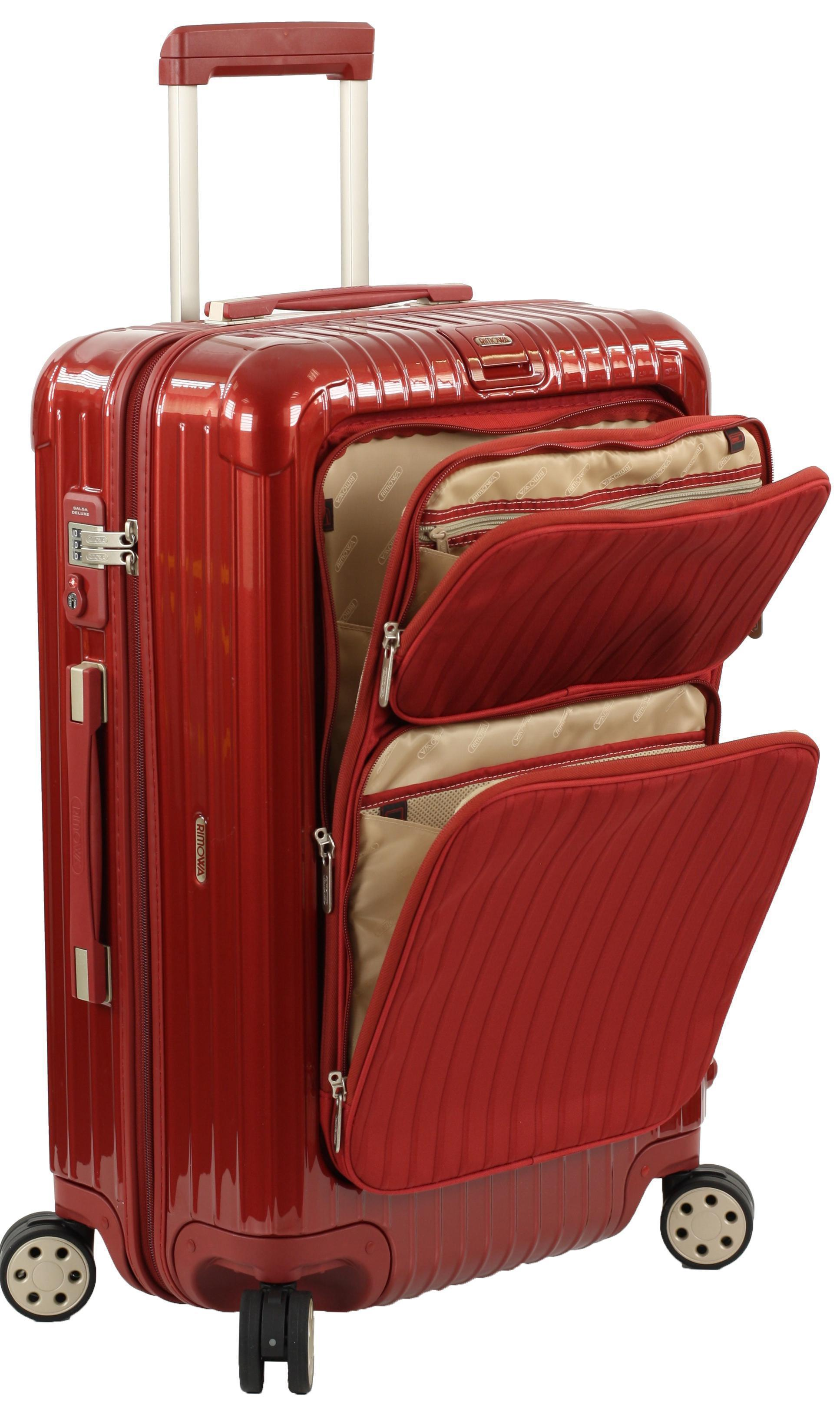 Rimowa salsa deluxe hybrid cabin multiwheel 52 iata for Rimowa salsa deluxe hybrid iata cabin multiwheel