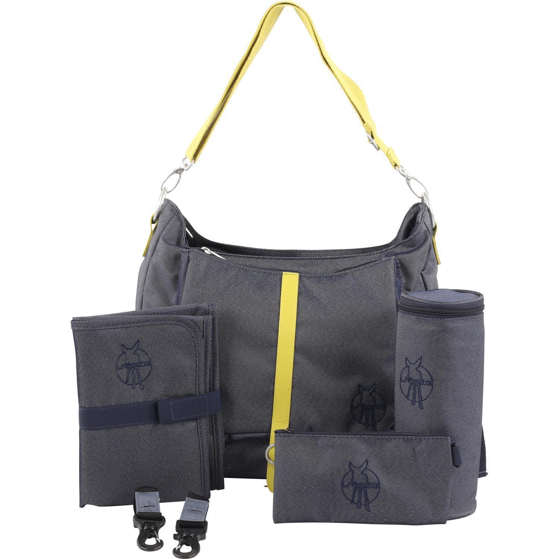 l ssig 4family green label shoulder bag wickeltasche 38 cm. Black Bedroom Furniture Sets. Home Design Ideas